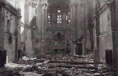 Iglesia de San Ignacio incendiada por anarquistas