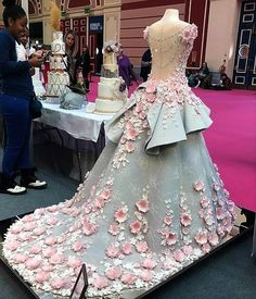Wedding Gowns Through The Ages Entry By Emma Jayne Of Cake Design At