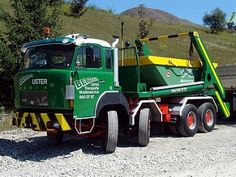 SAURER Recycling Containers, Trucks, Transportation, Construction, Vehicles, Vintage, Bern, Old Vintage Cars, Building