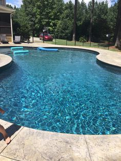 Backyard makeover Vinyl Liner Pattern Roundup Project - Post Pic & Name Of Your Liner - Page 22 Rais Amazing Swimming Pools, Swimming Pools Backyard, Pool Decks, Cool Pools, Pool Landscaping, Pool Liners Inground, Vinyl Pools Inground, Latham Pool, Free Pool