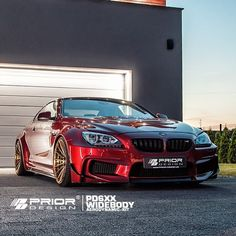 """The @PriorDesignUSA #BMW M6 F12 Widebody Beauty • Follow @PriorDesignUSA • More At PriorDesignNorthAmerica.com"""