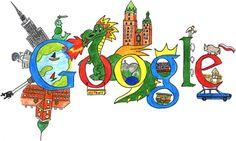 37º Aniversário da primeira edição de A História sem fim #GoogleDoodle