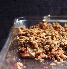 Sweet Freedom: Thankful for Fruit Crumble