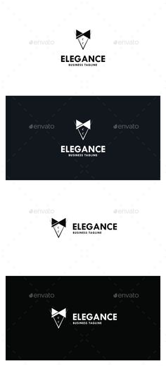 Elegance Logo Template #design #logotype Download: http://graphicriver.net/item/elegance-logo/13101413?ref=ksioks