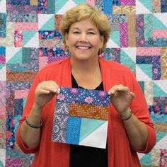 Summer Camp Quilt Tutorial from Missouri Star Quilt Co.
