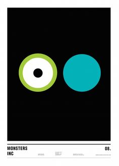Minimalist Movie Posters, Made Using Only Circles ~ Nicholas Barclay