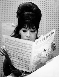Ronnie Spector of The Ronettes Circa 1960s