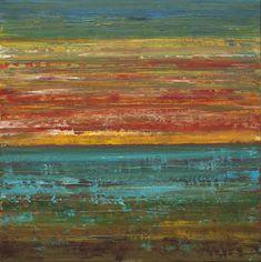 Sage Mountain Studio: Ocean Painting Sunset Painting Acrylic ...