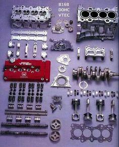 Honda B16B DOHC VTEC
