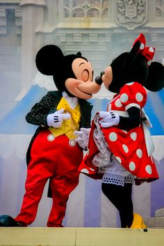 Mickey and Minnie ♥