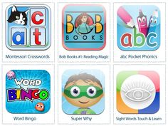 Apps for learning to read.