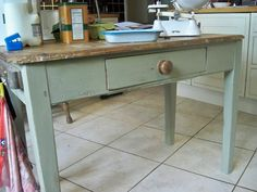 annie sloan country grey painted furniture   The Pratt's Patch: Annie Sloan Painting Again!