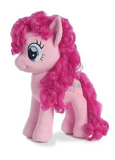 Where can I buy Aurora World My Little Pony/Pinkie Pie Plush for Christmas Gifts Idea Stores My Little Pony Dolls, All My Little Pony, My Little Pony Pictures, My Little Pony Friendship, Craft Paint Storage, Minnie Mouse Toys, My Little Pony Collection, Pinkie Pie, Childhood Toys