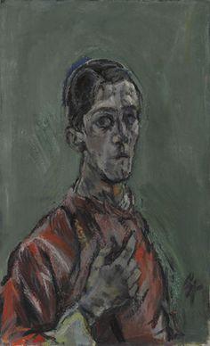 Oskar Kokoschka. Self-Portrait. 1913