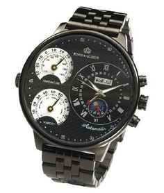Kings and Queens KQ4008 Mens Automatic Mechanical Watch Large Face 55mm All Black Stainless Steel Bracelet German Design L...: http://www.amazon.com/Kings-Queens-KQ4008-Automatic-Mechanical/dp/B005X7MB1G/?tag=watch-pinterest-20