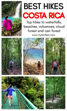 10 awesome hikes in Costa Rica. Click through to read: https://mytanfeet.com/activities/10-hikes-costa-rica/ Costa Rica | Costa Rica travel blog | Things to do in Costa Rica