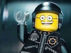 Which action star played Good Cop in The Lego Movie?