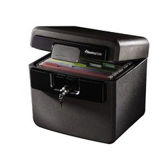 SentrySafe HD4100CG Fire-Safe Waterproof File is a great item to secure documents in your house or office.