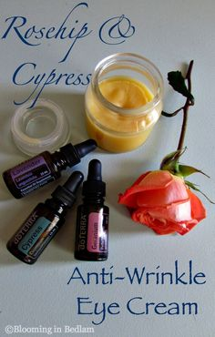 I would use with young living, but recipe seems great! Rosehip Cypress Anti-Wrinkle Eye Cream