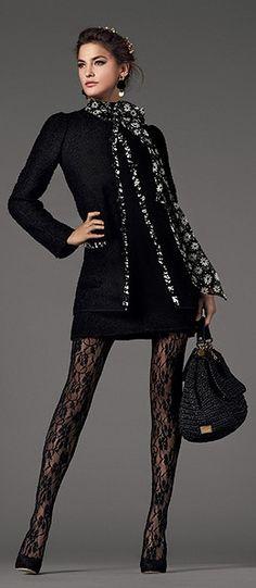Dolce & Gabbana 2013 tights