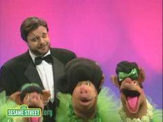 Sesame Street Celebrity songs http://www.youtube.com/watch?v=Ev9P79uSu8M&feature=share&list=PL93C142AB158CCB86&index=38
