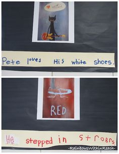 Pete the Cat Kindergarten Writing Response