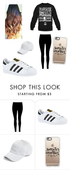 """Its to cold the holes of my sweater"" by jazel117 on Polyvore featuring adidas, rag & bone and Casetify"