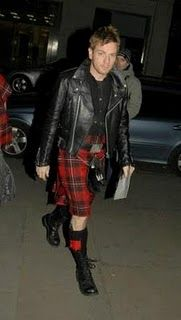 Real men wear kilts.