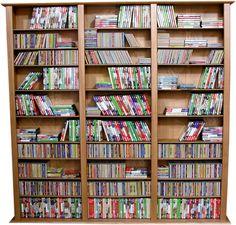 Venture Horizon VHZ Entertainment Large Triple Multimedia Storage Rack & Reviews   Wayfair