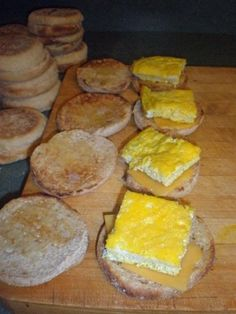 Homemaking on the Homestead: McMom's Breakfast Sandwiches for the Freezer