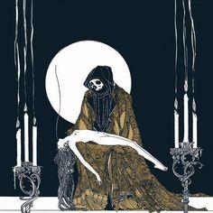 Illustration for Hamlet, 1922, by John Austen (1886–1948), english book illustrator.