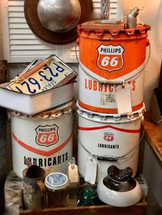 Vintage Phillips Oil Can   $38 and up   Vintage Affection Dealer #1680  White Elephant Antiques 1026 N. Riverfront Blvd., Dallas, TX 75207