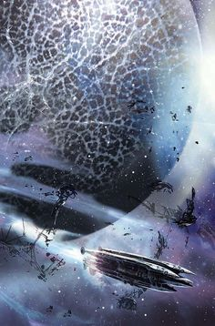 Pictures and drawings, art and creative advertising Fantasy worlds Stephan Martiniere