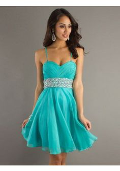 A-line Spaghetti Straps Chiffon Blue Cocktail Dresses/Short Prom Dress With Rhinestone #FD089 - See more at: http://www.victoriasdress.com/special-occasion-dresses/cocktail-dresses.html?p=14#sthash.4HzgBFyB.dpuf