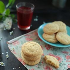 """Cracked Sugar Cookies I 