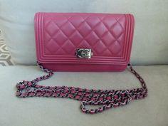 Chanel Boy WOC in pink $2100