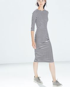 Image 2 of STRIPED DRESS from Zara