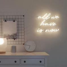 All We Have Is Now Real Glass Neon Sign For Bedroom Garage Bar Man Cave Room Home Decor Handmade Artwork Wall Lighting Includes Dimmer Neon Room Decor, Neon Lights Bedroom, Neon Sign Bedroom, Rooms Home Decor, Wall Decor, Room Ideas Bedroom, Bedroom Decor, Neon Signs Home, Neon Wall Signs
