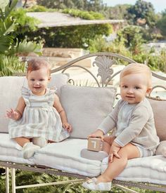Buy Mayoral baby clothes from Zero 20 kids Mayoral clothes superstore. Shop our inventory of Mayoral childrenswear. Cute Baby Twins, Twin Baby Boys, Cute Little Baby, Baby Kind, Twin Babies, Little Babies, Outfits Niños, Baby Outfits, Kids Outfits