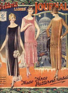 1920's women's evening fashion