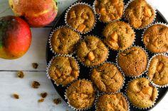 Mango Bread Muffins Hawaiian Dessert Recipes, Mango Bread, Bread Packaging, Sifted Flour, Buzzfeed Food, Baking Soda, Muffins, Summertime, Cinnamon