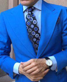 Bold Blue Jacket