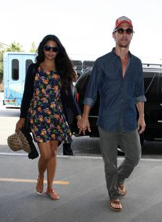 257c7e34690d07 Bump Watch  Camila Alves McConaughey LAX departure