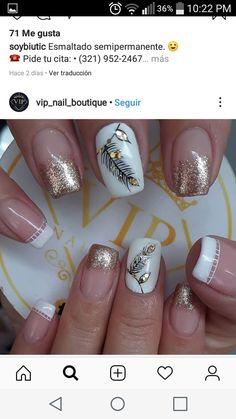 Love Nails, My Nails, Nail Spa, French Nails, Nail Designs, Lily, Angel, Beauty, Work Nails