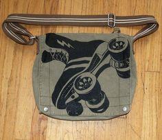 Roller derby skate purse