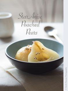 Star Anise Poached Pears