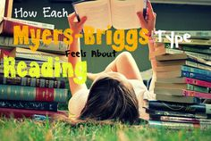 So me!! :P How Each Myers-Briggs Type Feels About Reading // INFJ // INFP // INTJ // INTP