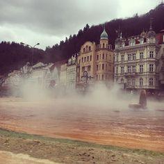Karlovy vary ja kuumat lähteet #travelling #matkalla #tsekki #czech #karlovyvary #hotsprings