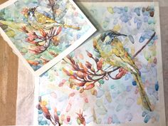 Watercolor Watercolor, Bird, Artist, Painting, Pen And Wash, Watercolor Painting, Birds, Artists, Painting Art
