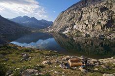 Lower Palisades Lake, Kings Canyon National Park
